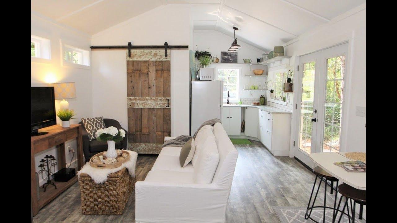 Gorgeous Tiny House Doesn T Feel So Tiny Youtube