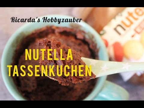 Nutella Tassenkuchen Rezept Youtube
