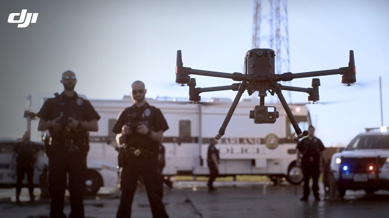 DJI – M300 RTK - Coordinating Police Missions from the Sky