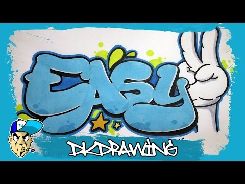 graffiti-tutorial---how-to-draw-easy-graffiti-bubble-style-letters