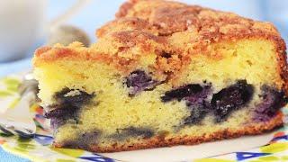 Blueberry Yogurt Cake Recipe Demonstration - Joyofbaking.com