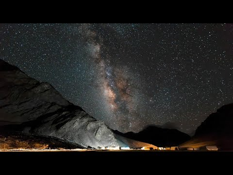 Milky Way Ography In Ladakh