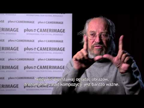 Plus Camerimage Vittorio Storaro interview