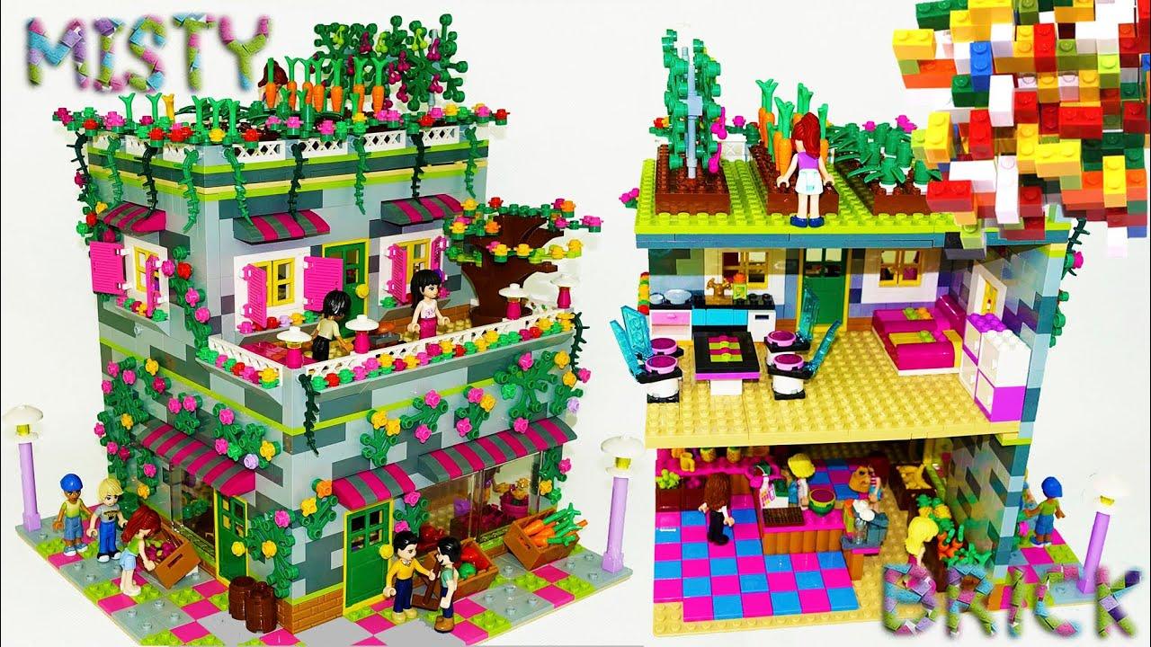 Lego Friends Mias Garden House By Misty Brick Youtube