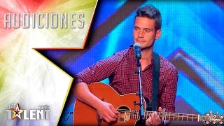 'The song that got Risto into tears | Auditions 1 | Spain's Got Talent 2017