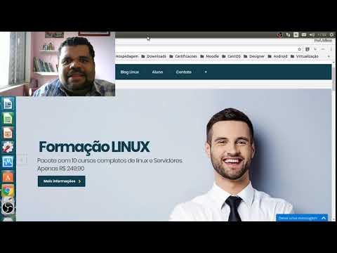 Formação Linux com responsabilidade social.