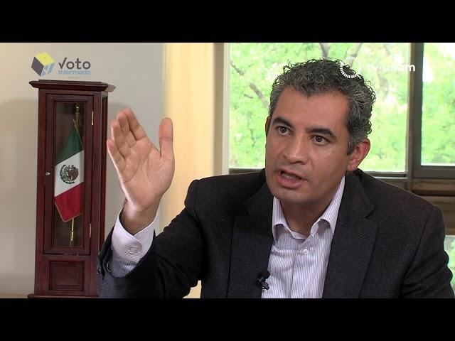 Voto Informado ENRIQUE OCHOA PRESIDENTE DEL PRI Y LUIS CASTRO PRESIDENTE DEL PANAL