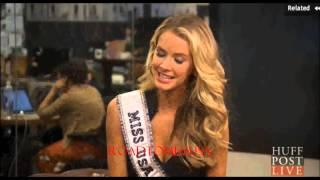 Olivia Jordan, Miss USA 2015 at The Huffington Post