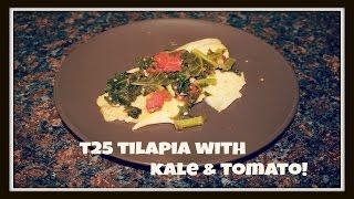Tilapia With Kale & Tomato Recipe