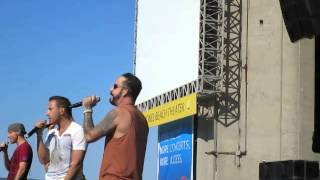 Backstreet Boys Soundcheck Party - Feels Like Home (vid 3 of 8) 6/22/14