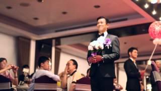 婚禮主持 Anson - 主持影片(第一次進場-世貿33)【Mr.A Wed Studio安森個人婚禮工作室】