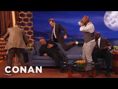 Charles Barkley: Neither Conan Nor I Have Any Rhythm - CONAN on TBS