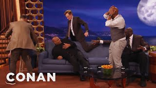 Charles Barkley: Neither Conan Nor I Have Any Rhythm - CONAN on TBS