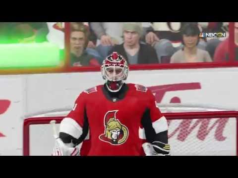 NHL® 18 San Jose Sharks vs Ottawa Senators