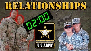 Relationships in the Army