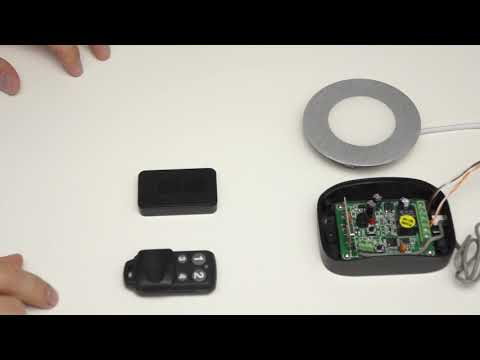 Пульт аналог DoorHan (ДорХан) Transmitter-2/4(2/4PRO) с защитой кнопок