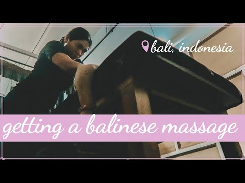 Getting a Balinese Massage | What is a Balinese Massage? | Bali Travel Vlog