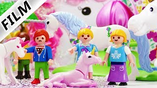 Playmobil Film deutsch | Besuch im EINHORN FUN PARK in Playmobil City | Kinderserie Familie Vogel