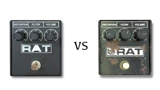 New RAT vs 1985 ProCo RAT White Face