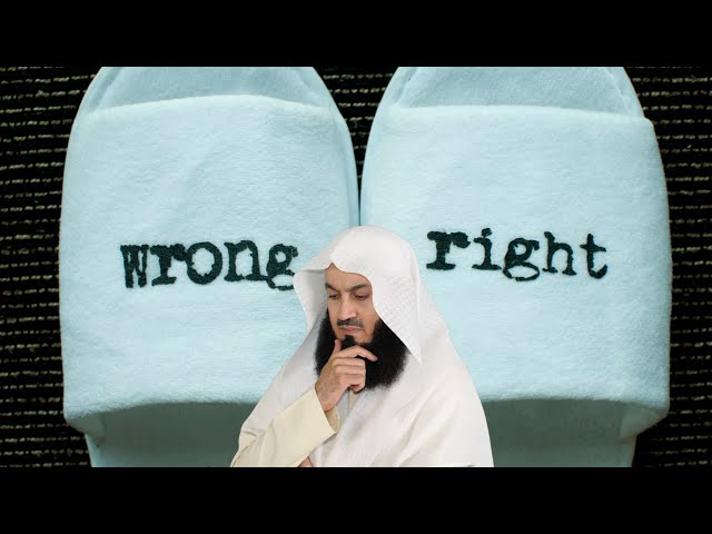 How do you decide something is WRONG? - Mufti Menk