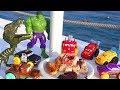 Машинки на море Преступление возле моря и Погоня Мультики про #машинки. Молния #Маквин и друзья Cars
