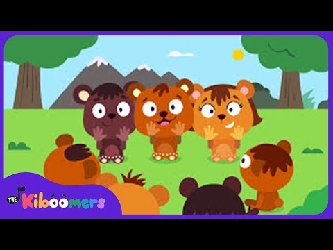 Make a Circle Song for Kids | Make a Circle Big Big Big Song | The Kiboomers