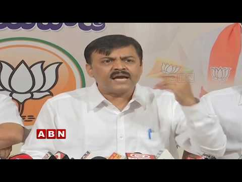 BJP Leader GVL Narasimha Rao Press Meet | Vijayawada | ABN Telugu