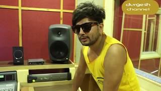 Durgesh thapa new song recording clips with Basanta thapa kranti k c Asish abiral raga studio