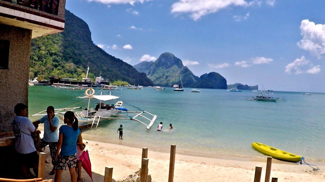 how to go to palawan beach