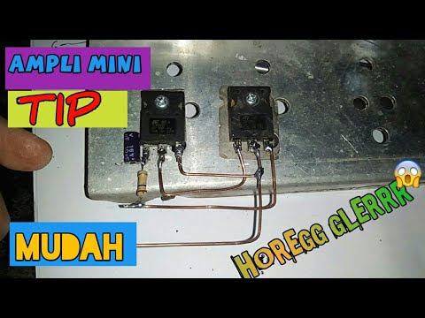 Power Ampli Mini Dengan Transistor : mini power audio amplifier circuit using 2 transistors doovi ~ Russianpoet.info Haus und Dekorationen