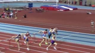 Бег 60 метров с барьерами. Чемпионат России, мужчины финал