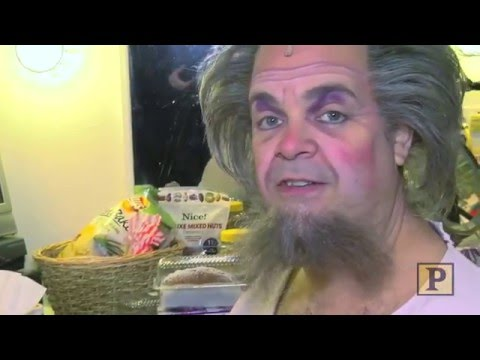 Something Rotten! 's Brad Oscar Dons Wild Wig, Beard and Makeup to Become Nostradamus