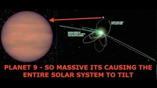 Planet 9 So Massive It's Causing the Entire Solar System to Tilt - Marshall Masters