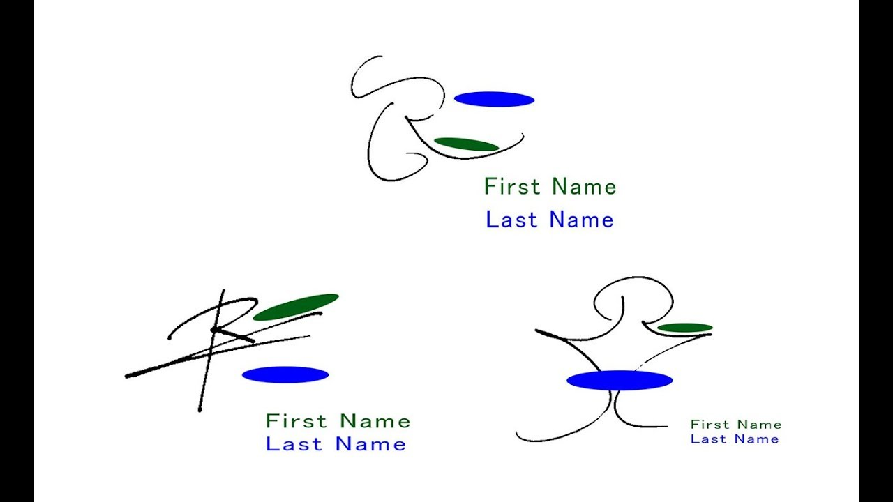 How To Draw The Impressive Signatures Beginning With R 1