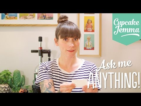 Q&A Ask Me Anything ANSWERS! | Cupcake Jemma