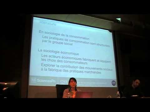 Conférence de Sophie Dubuisson-Quellier - La consommation engagée