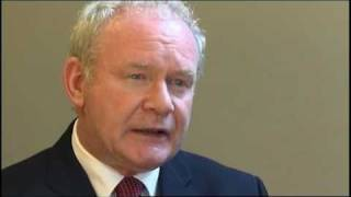 Martin McGuinness speaks about role of 'Anti-Peace' Groups