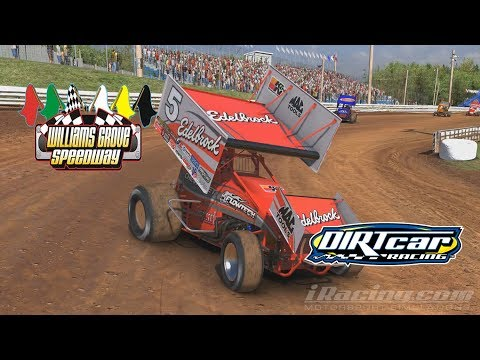 Leading the Pack Iracing 305 williams grove speedway