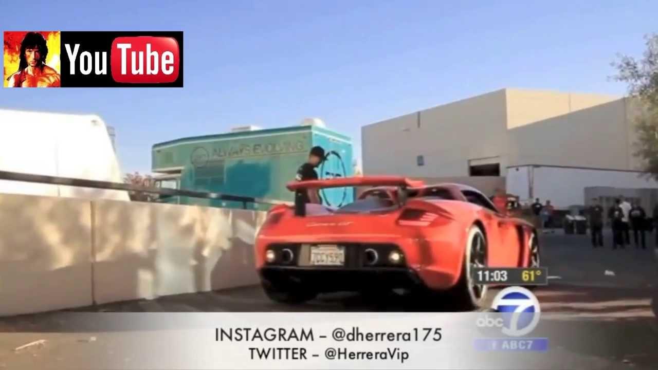 Jay Leno Spinning A Porsche Carrera Gt Same Car As Paul