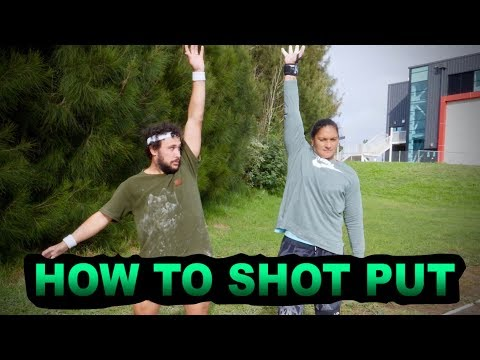 HOW TO SHOT PUT with Dame Valerie Adams   HOW TO SPORT SERIES