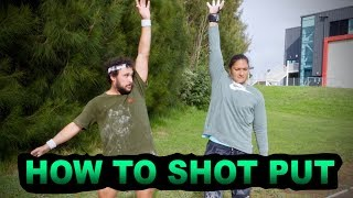 HOW TO SHOT PUT with Dame Valerie Adams