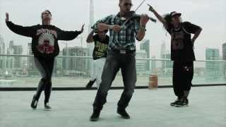 Hip hop violin | dubai 2014 | svet