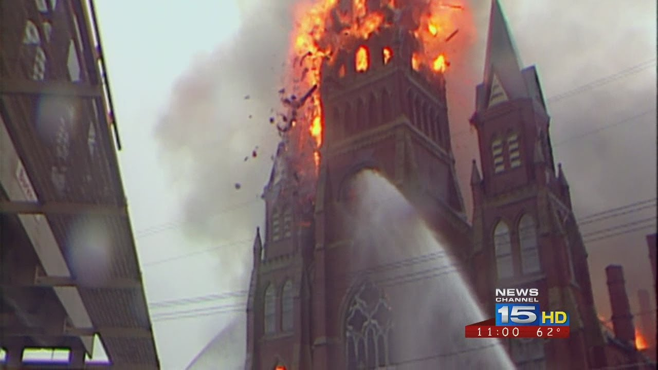St  Mary's Church Fire - YouTube