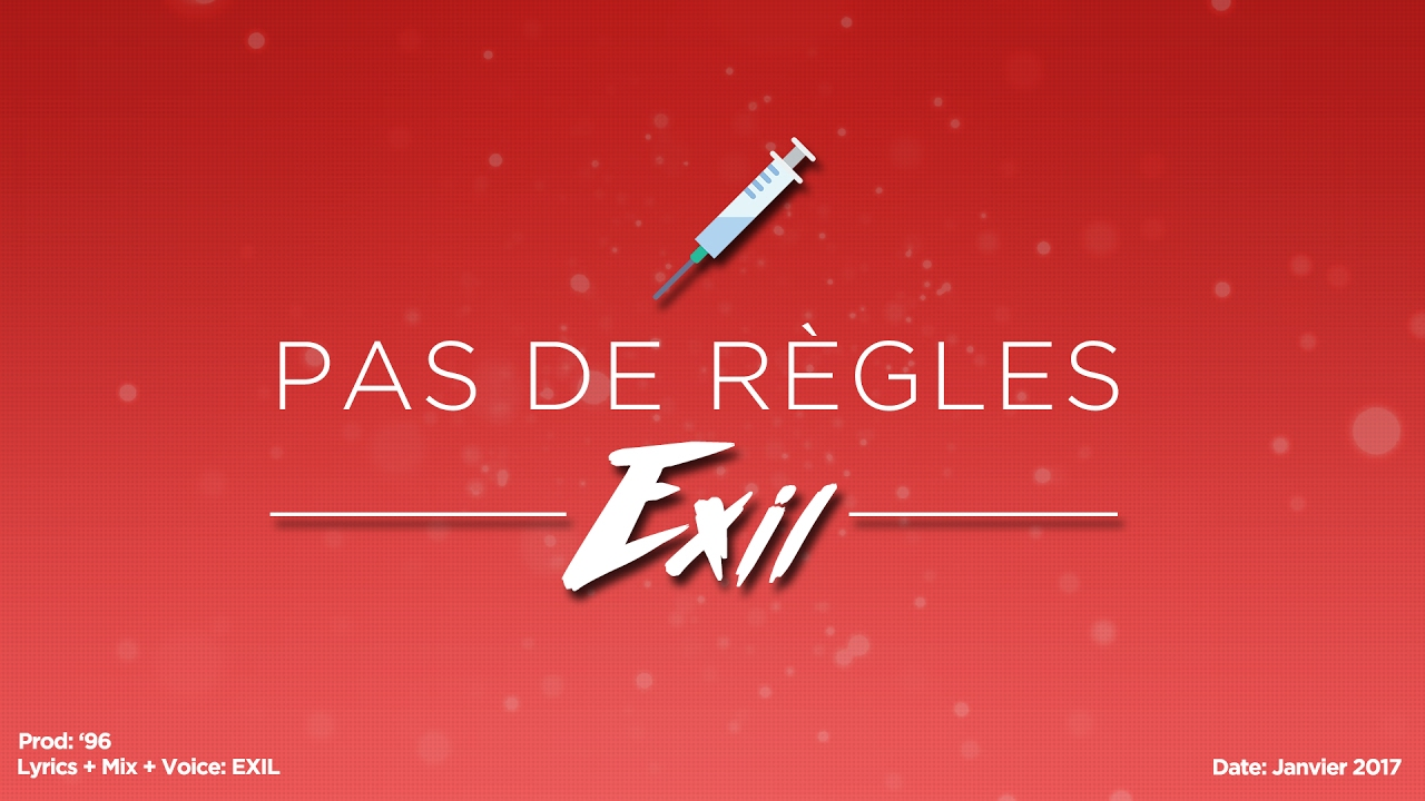 EXIL - Pas de règles (Prod. '96) HIPHOP/RAP - YouTube