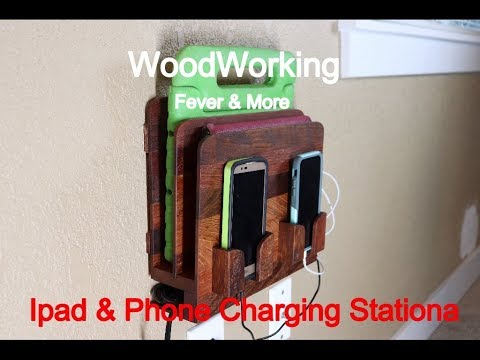 How to Build Ipad And Phone Charging Station