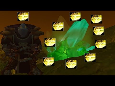 Vanilla WoW - Rich Thorium Vein/Arcane Crystal Farming Route