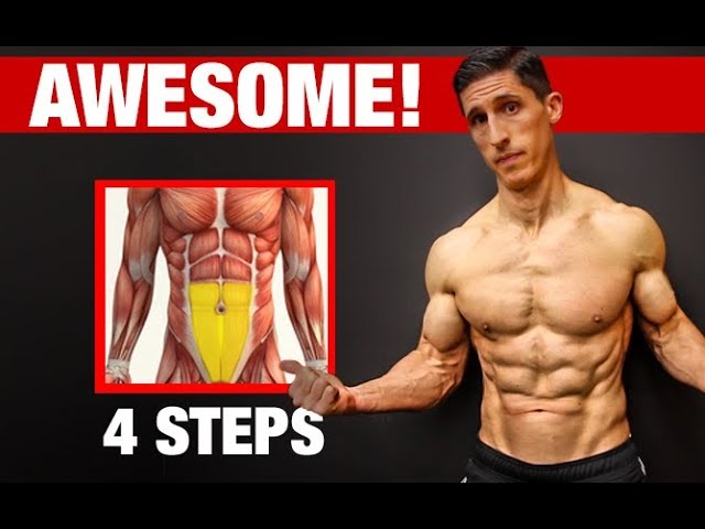4 Steps to Awesome LOWER ABS!