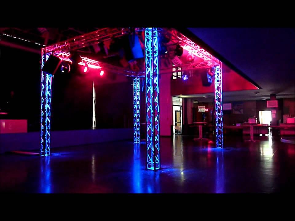 Disco Setup discjockeyonline de Truss Tower GLP