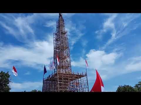 Pionering tertinggi 110 M dan Detik-detik berkibarnya bendera merah putih 1000 M