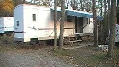 Camp Bell Campgrounds Dutchman Rental Trailer - Exterior
